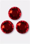 3mm Swarovski Crystal Flatback Rhinestones 2058 Light Siam F x1440