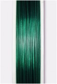 Nylon Coated Steel Wire Metallized green x1m