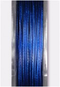 Nylon Coated Steel Wire Metallized Dark Blue x10m