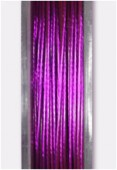 Nylon Coated Metallized Wire Cable Purple x10m