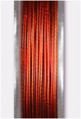 Nylon Coated Metallized Wire Cable Rust x10m