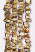 Jasper Semi-Precious Chips x 90cm