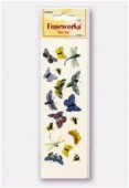 Fuse Art High-Fire Butterfly Decal For Use With Fuseworks Microwave KILN x1