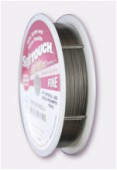 Soft Flex Wire .014 DIA.30FT 21 Strand Premium Silver x1