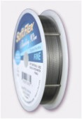 Soft Flex Wire .014 DIA.30FT 21 Strand Silver x1