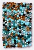 4mm Swarovski Crystal Bicone Beads 5328 Tropical Mix x50