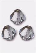 4mm Lumi Ice Preciosa Czech Crystal Bicone Beads x50