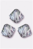 4mm Bermuda Preciosa Czech Crystal Bicone Beads x50