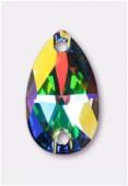 18x10.5mm Swarovski Crystal Drop Sew On Stone 3230 Crystal AB F x72