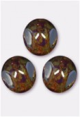 10mm Crystal Czech 3-Cut Picasso x6