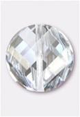 14mm Swarovski Crystal Twist Bead 5621 Crystal Crystal Moonlight x1