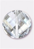 18mm Swarovski Crystal Twist Bead 5621 Crystal Moonlight x1