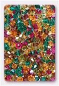 4mm Swarovski Crystal Bicone Beads 5328 Autumn Mix x50