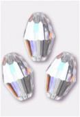 7.5x5mm Swarovski Crystal Oval Bead 5200 Crystal AB x1
