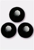 2mm Swarovski Crystal Flatback Rhinestones 2058 SS6 Jet F x1440