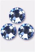 3mm Swarovski Crystal Flatback Rhinestones 2058 Light Sapphire F x1440
