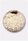 14K Gold Filled Stardust Round Bead 2 mm x6
