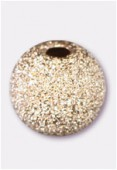 14K Gold Filled Stardust Round Bead 6mm x1