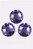 3mm Swarovski Crystal Flatback Rhinestones 2058 SS10 Tanzanite F x1440