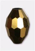 13x10mm Aurum Oval Celebrity Crystal x2
