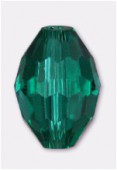 11x8mm Teal Oval Celebrity Crystal x2