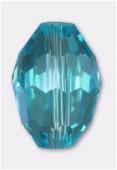13x10mm Agua Oval Celebrity Crystal x2