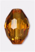 13x10mm Topaz Oval Celebrity Crystal x2
