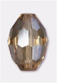 11x8mm Light colorado Oval Celebrity Crystal x2