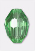 13x10mm Peridot Oval Celebrity Crystal x2