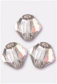 4mm Light Rose Preciosa Czech Crystal Bicone Beads x50