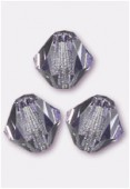 4mm Tanzanite Preciosa Czech Crystal Bicone Beads x50