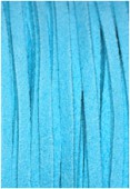 Faux Suede Cord Turquoise x1 m