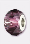 14mm  Swarovski Crystal Becharmed Briolette 5948 Amethyst x1