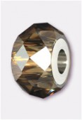 14mm  Swarovski Crystal Becharmed Briolette 5948 Crystal Bronze Shade x1