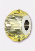 14mm  Swarovski Crystal Becharmed Briolette 5948 Jonquil x1