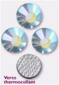 3mm Swarovski Crystal Hotfix Flatback Rhinestones 2038 SS10 Crystal AB M HF x1440