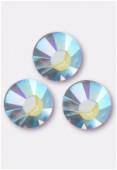 3mm Swarovski Crystal Flatback Rhinestones 2058 SS10 Crystal AB F x1440