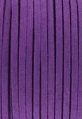 Faux Suede Cord Purple x1 m