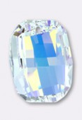 28mm Swarovski Crystal Graphic Pendant 6685 Crystal AB x1