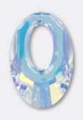 40mm Swarovski Crystal Helios Pendant 6040 Crystal AB x1
