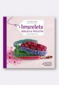 Book Bracelets Perles et tricotin x1