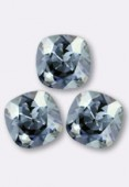 12mm Swarovski Crystal Cushion Cut Fancy Square Stone 4470 Crystal Blue Shade x1