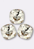 12mm Swarovski Crystal Cushion Cut Fancy Square Stone 4470 Light Silk F x1