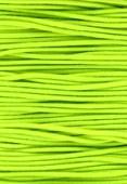 Elastic Stretchy Cord Neon Yellow x1m