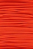 Elastic Stretchy Cord Neon Orange x1m