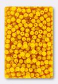 3mm Czech Glass Round Druk Beads Opaque Squash x100