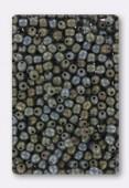 3mm Czech Glass Round Druk Beads Matt Iris Brown x100
