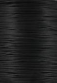 0.80mm Chinese Knotting Cord Black x1m