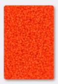 Miyuki Delica 15/0 Opaque Orange x10g