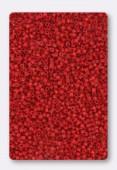 Miyuki Delica 15/0 Opaque Red x10g